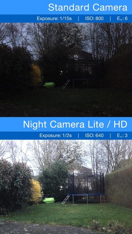 Night Camera: Low light photos