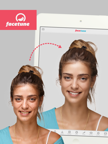 Facetune for iPad - náhled