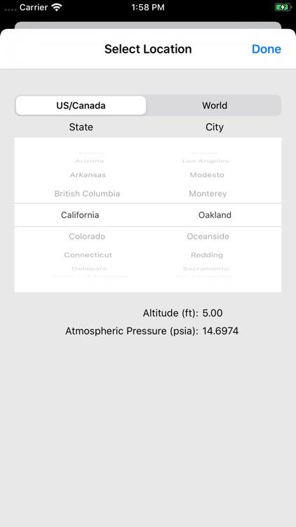 ASHRAE HVAC PT Chart screenshot-8