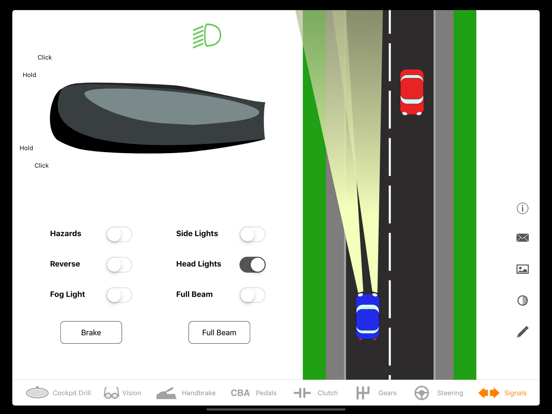 Learn To Drive: Controls screenshot two