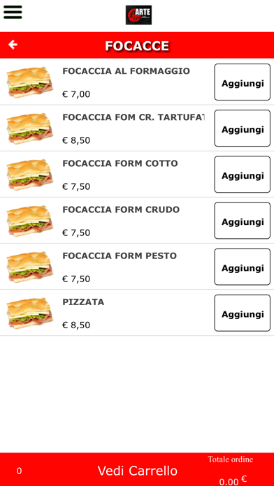 Arte Pizza Albaro screenshot #3
