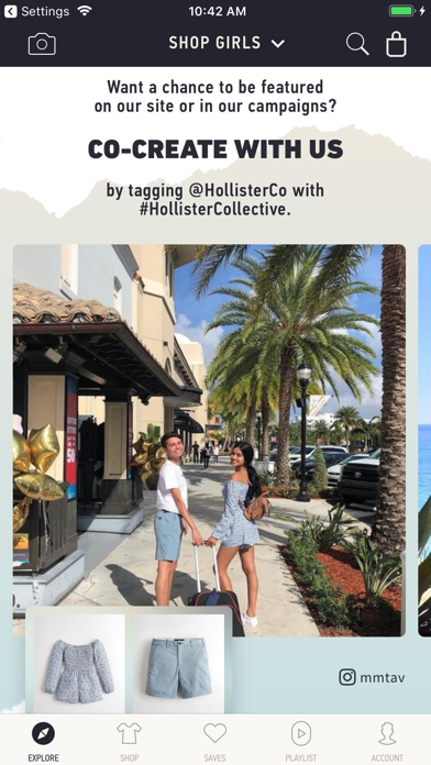 Screenshot for Hollister So Cal Style in United States App Store