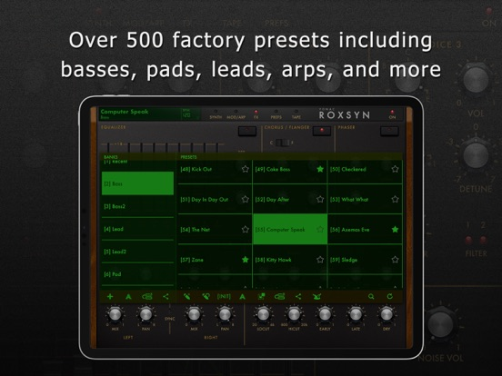 Roxsyn Guitar Synthesizer