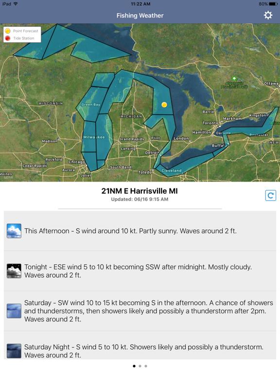 Fishing Weather Forecastのおすすめ画像1