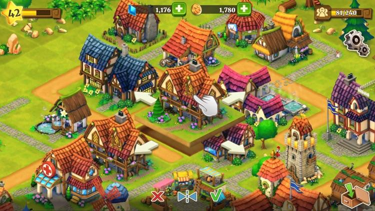 Town Village: Farm Build Trade screenshot-5