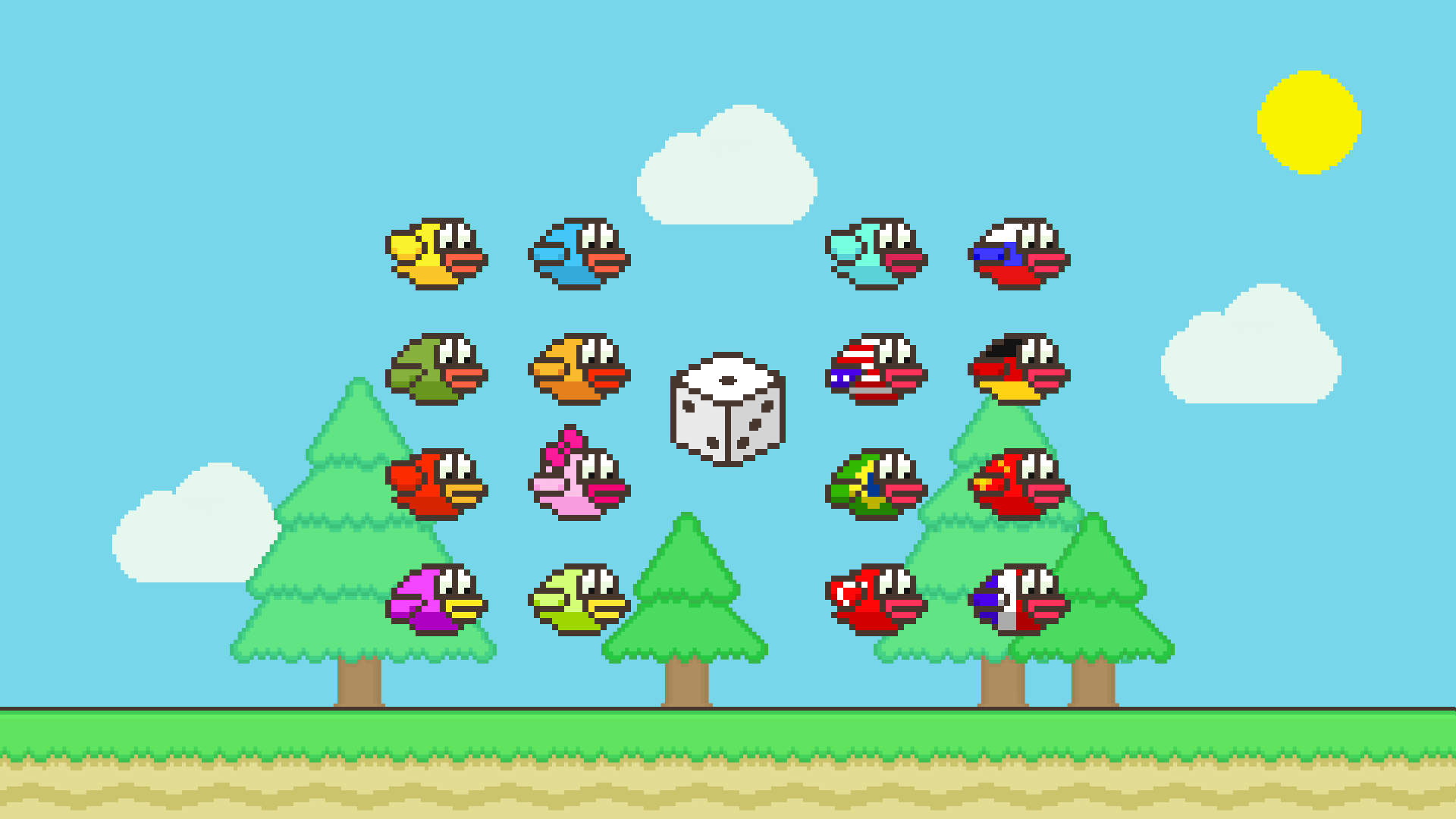 Flappy Family Bird Arcade screenshot 19