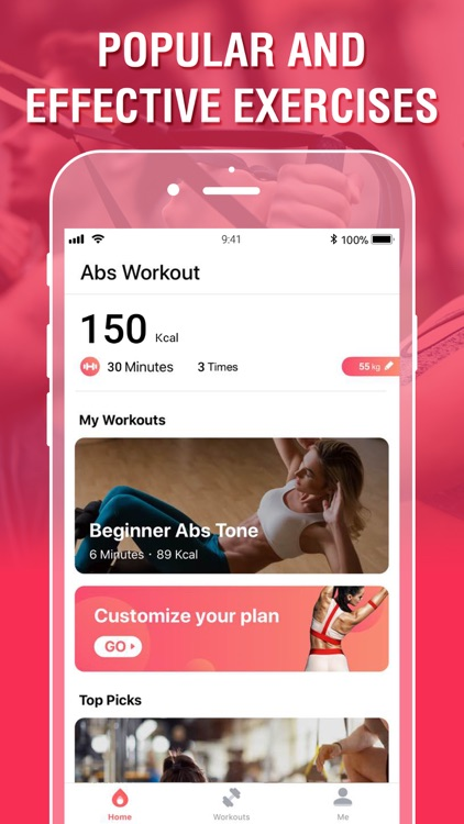 HiFit For Abs Workout