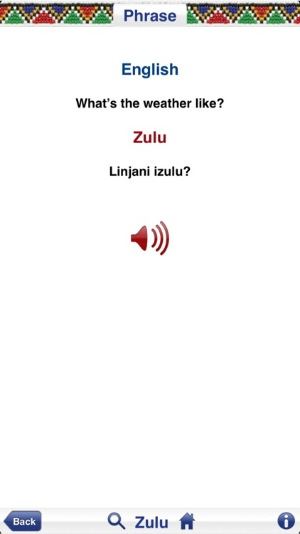 Hello South Africa Phrasebook screenshot-4