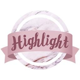 Highlight Cover & Logo Maker