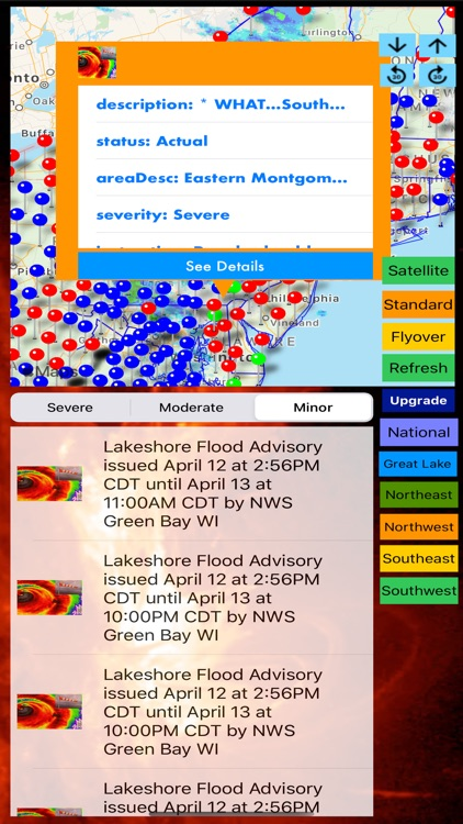 Instant NOAA Alerts 3D Elite screenshot-4