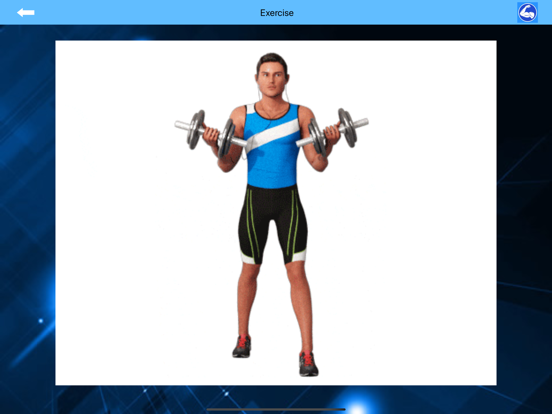 Arm Workout at Home with music screenshot 12