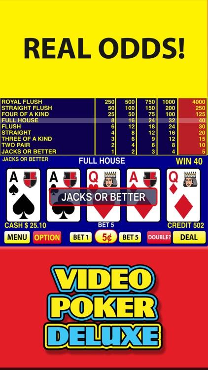 Video Poker Deluxe Casino screenshot-4