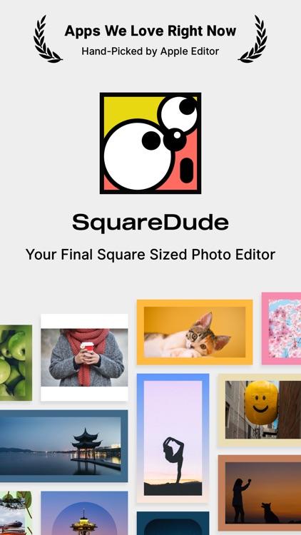 SquareDude - Square Fit Photo