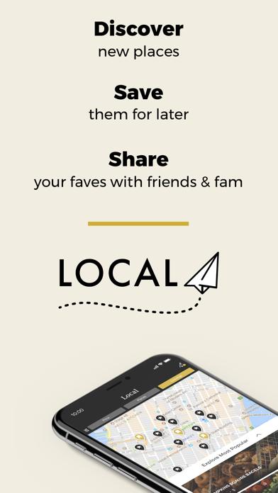 Local: Restaurant Lists & RecsScreenshot of 1