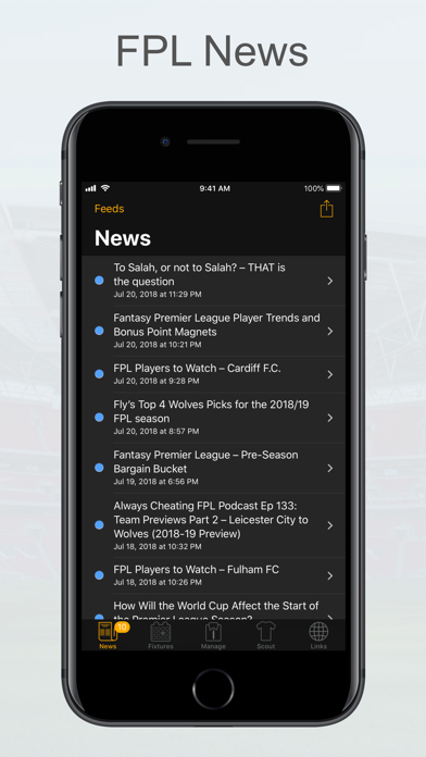 Screenshot for FPL Fantasy Football Manager in United Arab Emirates App Store