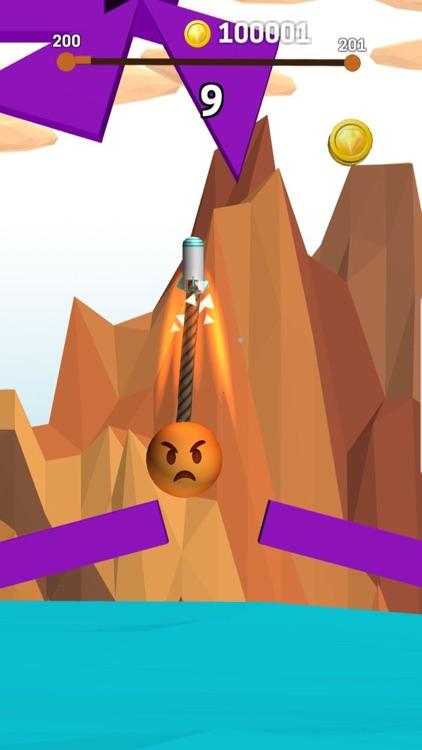 Rope Swing Game screenshot-5