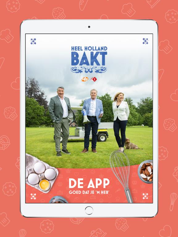 Heel Holland Bakt iPad app afbeelding 1