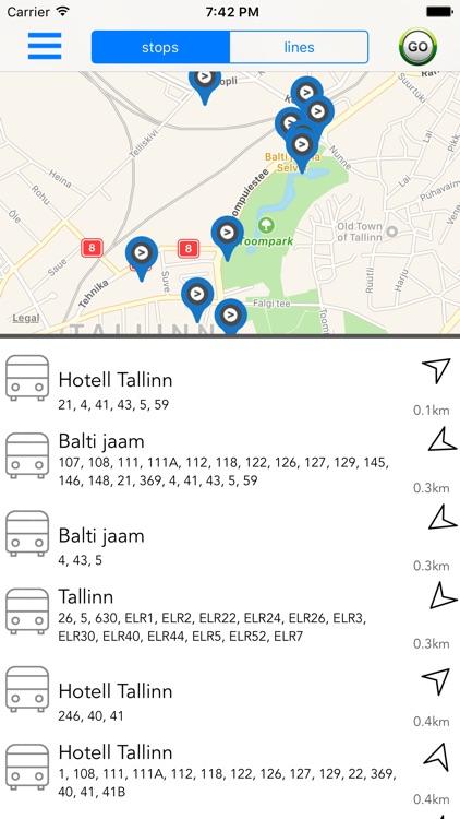 Estonia Public Transport