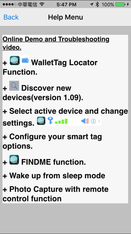 VB SmartTag screenshot-2