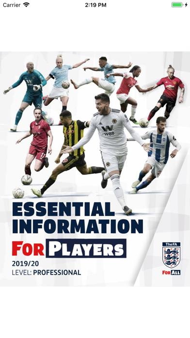 FA Player Essentials screenshot one