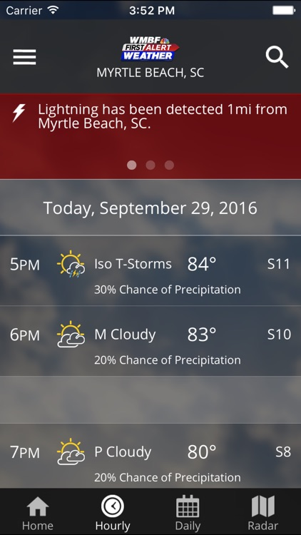 WMBF First Alert Weather screenshot-4