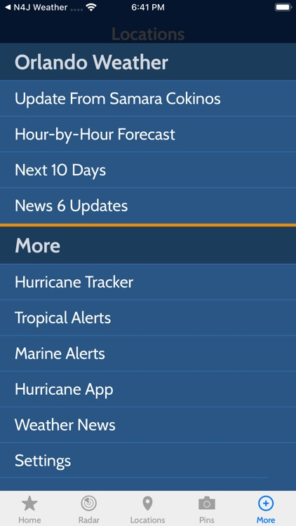 News 6 Pinpoint Weather screenshot-3
