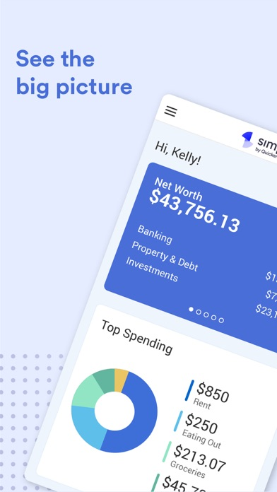 Simplifi: Budget & Money App Screenshot