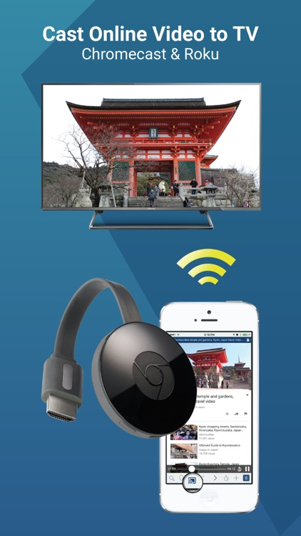 WebCast TV for Chromecast
