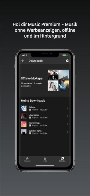 App musik horen im hintergrund