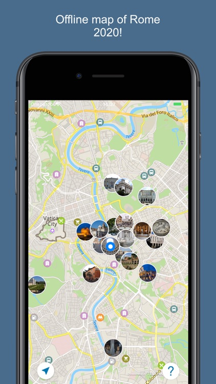 Rome 2017 — offline map
