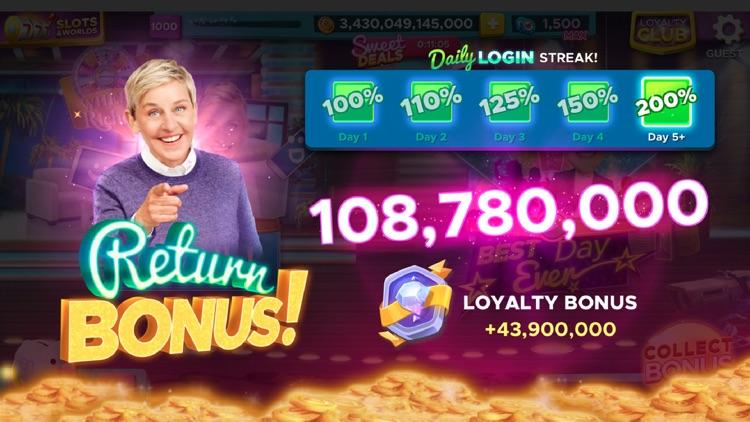 Ellen's Road to Riches Slots screenshot-9