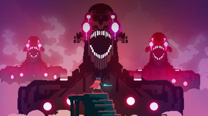 Screenshot from Hyper Light Drifter