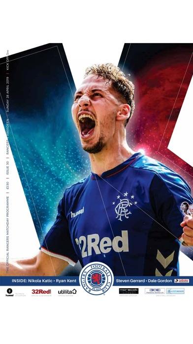 Rangers FC Digital Programme screenshot 2
