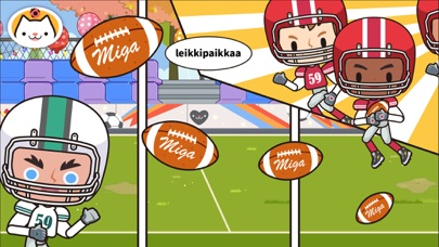 Screenshot for Miga Town: Koulu in Finland App Store