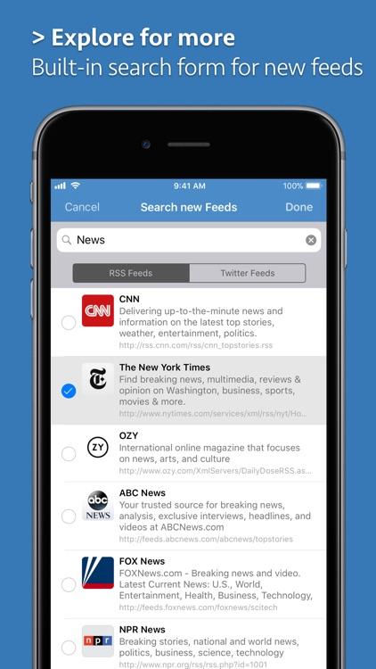 News Explorer screenshot-8