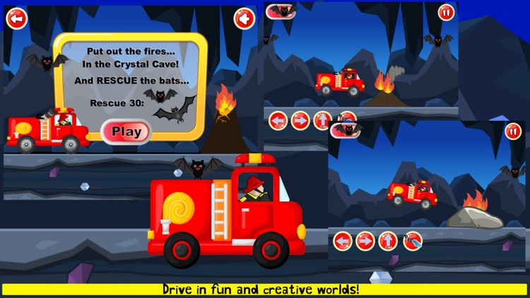 Fireman Game Fire-Truck Games screenshot-7