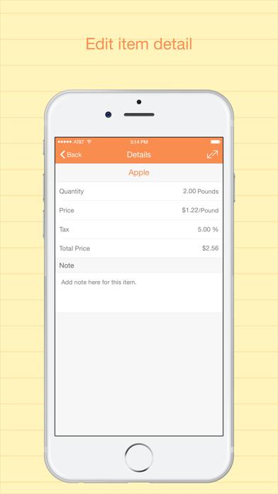 Best Shopping List Pro: To-do screenshot three