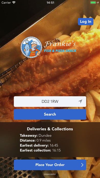 Frankies Fish Shack screenshot one
