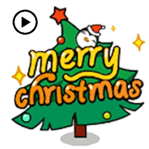 Animated Christmas Penguin