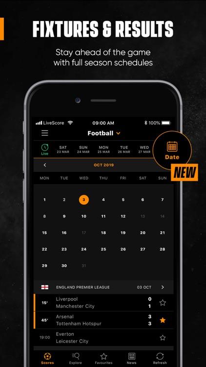 LiveScore: Live Sport Updates screenshot-8