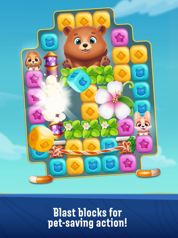 Screenshot #1 for Pet Rescue Puzzle Saga