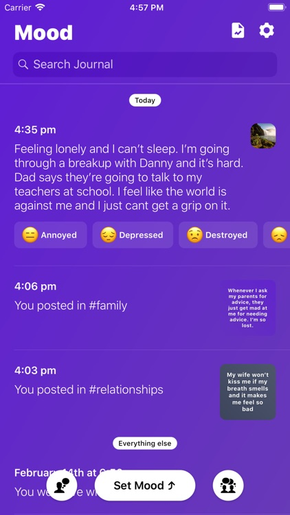Mood - Journal & Anxiety Chat screenshot-9