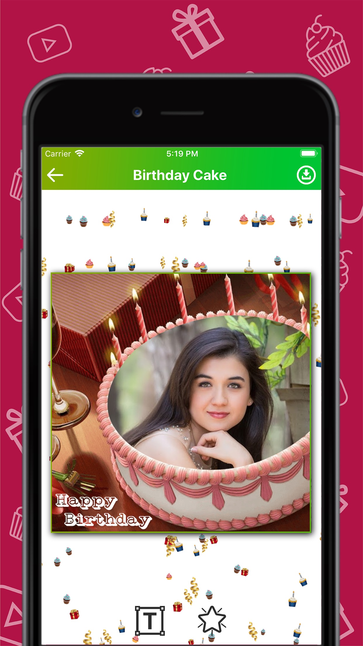 Birthday Wishes Creator Screenshot