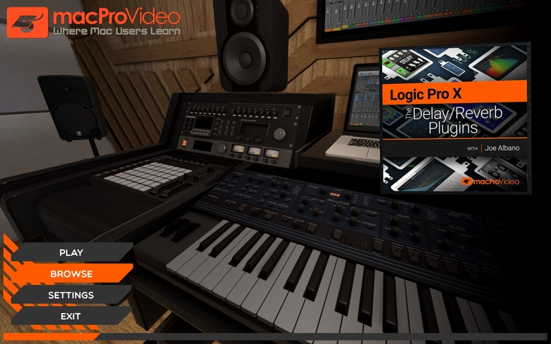 Delay & Reverb Course For LPX for Mac