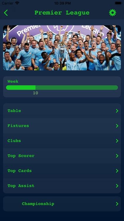 Live Results - English League screenshot-3