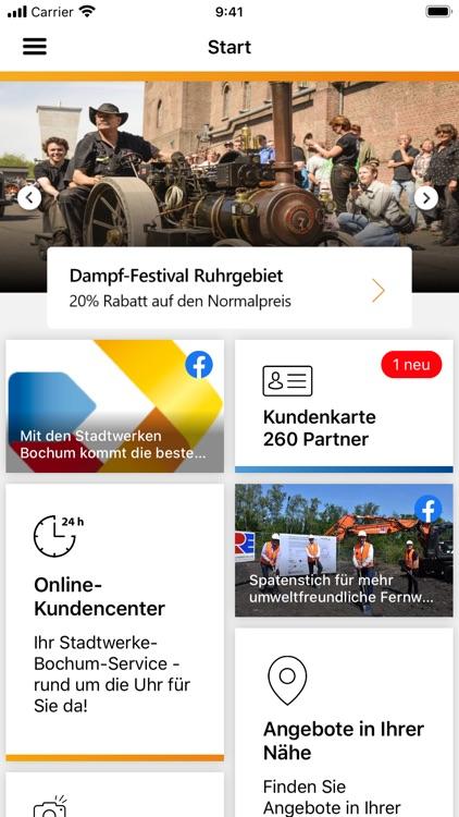 Stadtwerke Bochum-App