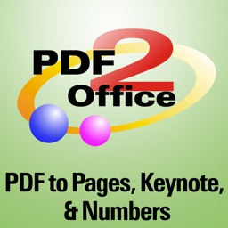 PDF2Office OCR for iWork