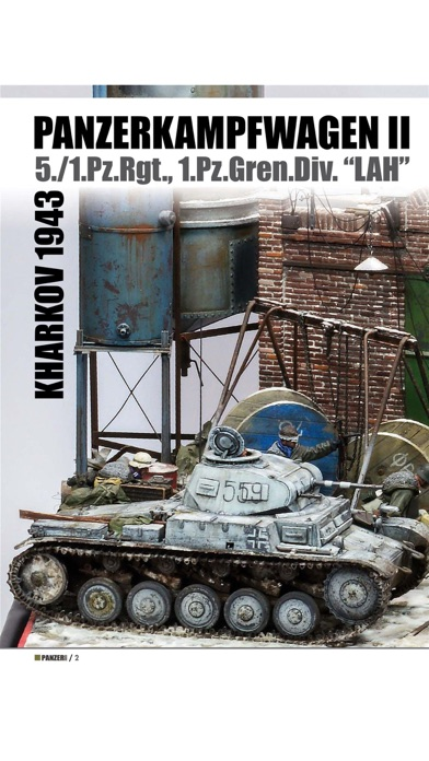 Panzer Aces Magazine Screenshot