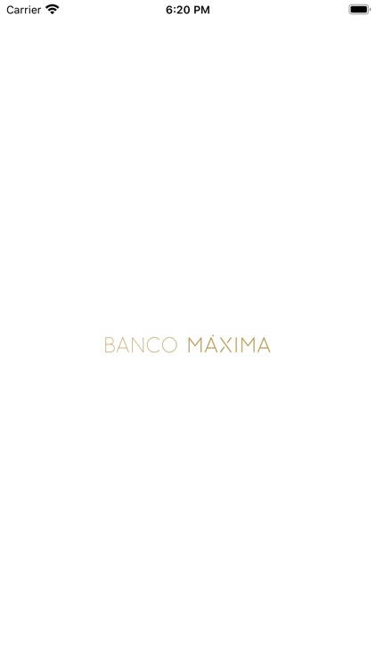 Banco Máxima: Internet Banking