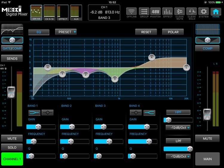 MIXX16 Digital Mixer screenshot-4
